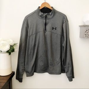 Under armour loose fit cold gear pullover fleece